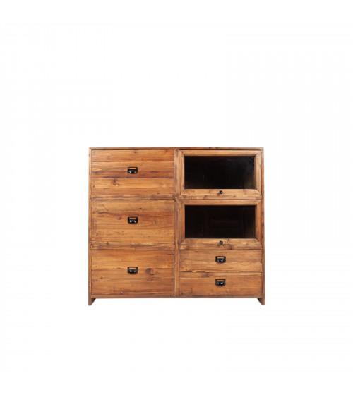 Natural Wood Cabinet