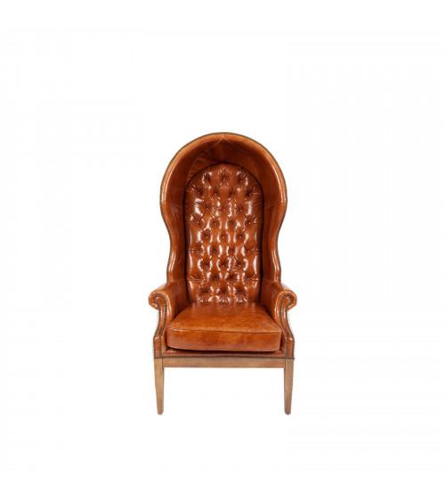 Vintage Queen Annie Throne Armchair