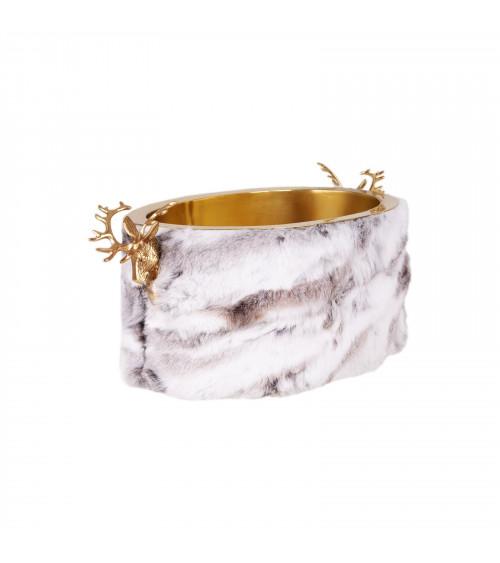 Chalet Seau à Glace Ovale - Gold