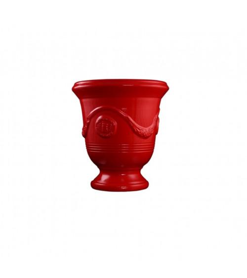 Vaso Anduze Smalto Rosso