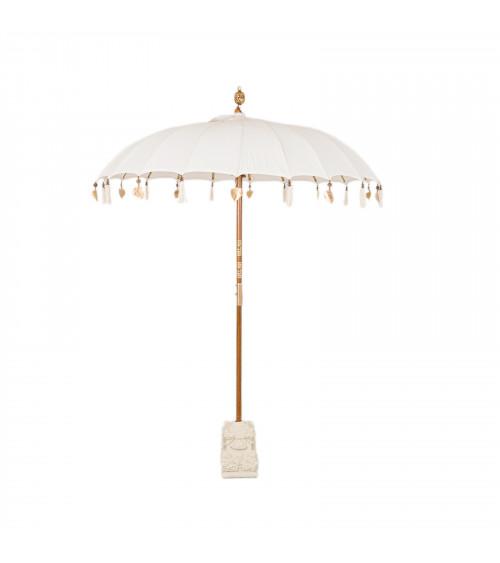 Ombrello Balinese Bianco