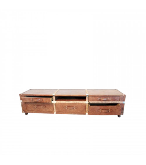 Full Leather Tv Stand