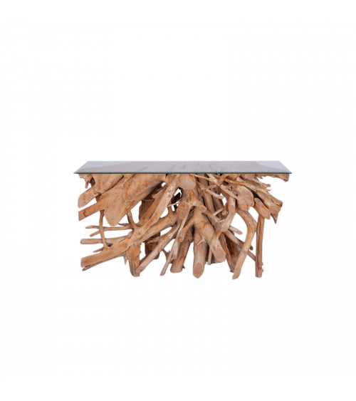 Rotan Consolle Table