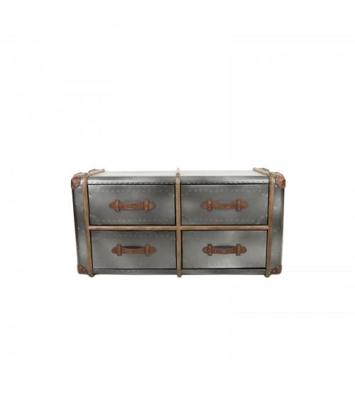 Mobile da letto Vintage a 4 cassetti