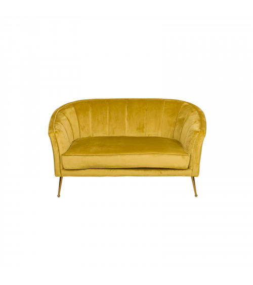 Divano Velvet Gold