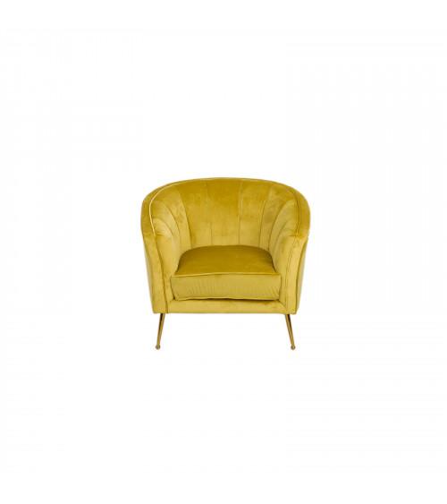 Poltrona Velvet Gold