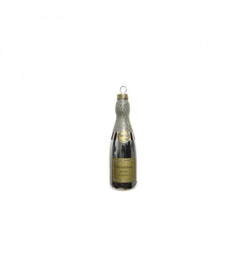 6x Bottiglia Chateaux Santa's, Decorazione Albero