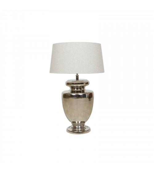 Base Lampada Silver