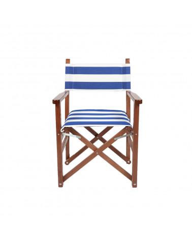 Sedia Regista Blue Stripes