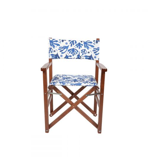 Sedia Regista Matisse Blu