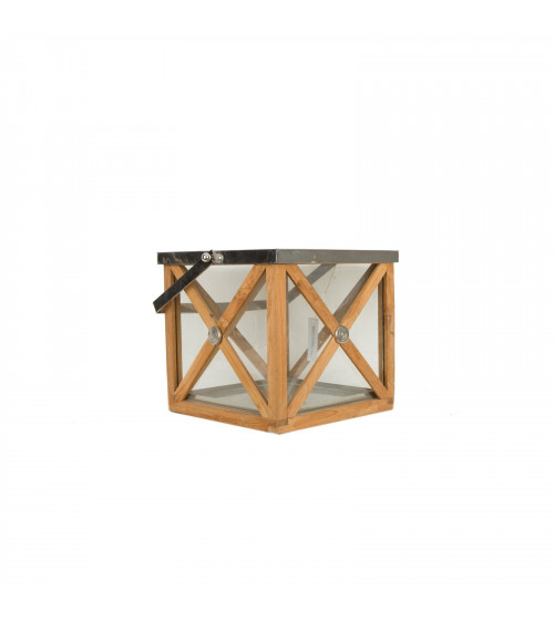 Imperial Cross Wood Lantern