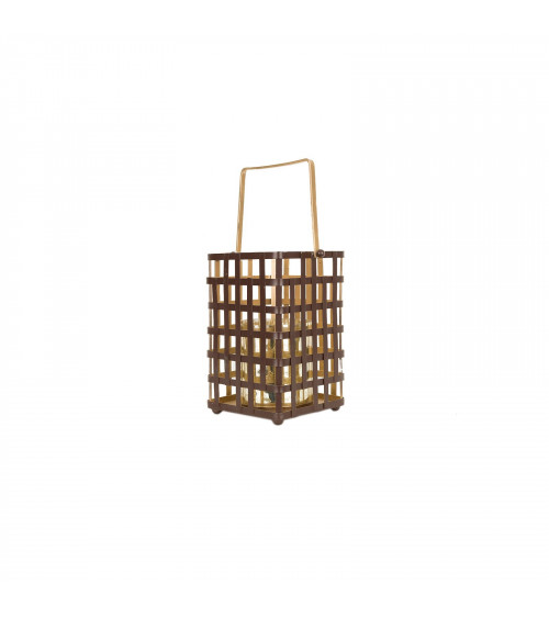 Black and Gold Cage Lantern
