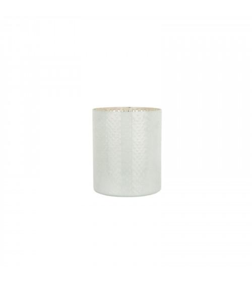 Vaso in Vetro Bianco