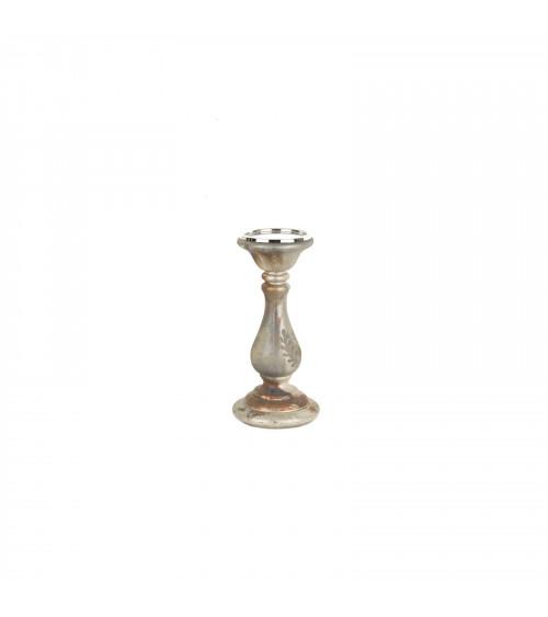 Vintage Glass Pillar Holder