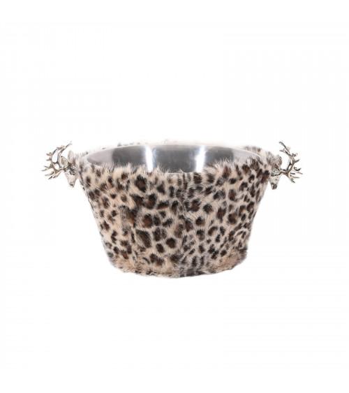 Leopard Chalet Wine Cooler