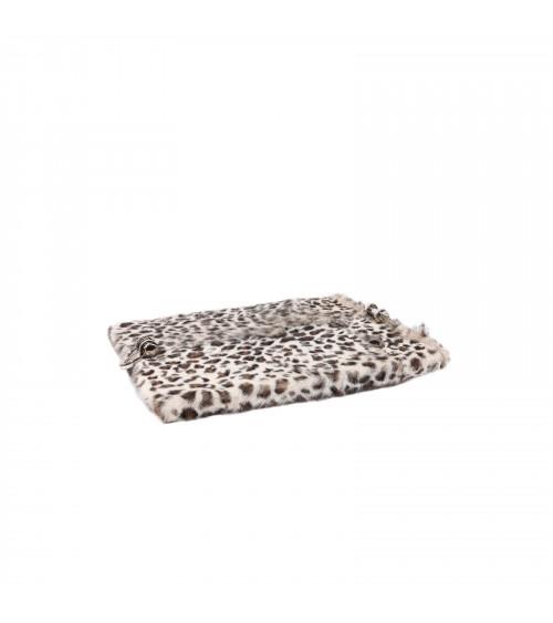 Leopard Fur Chalet Serving Tray