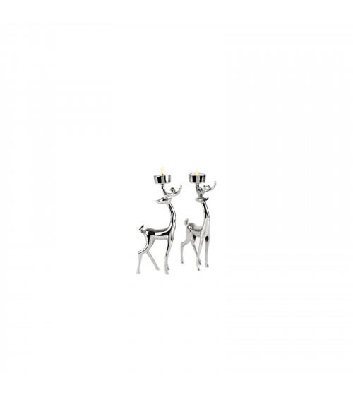 Reindeers one Tea-light set Holders